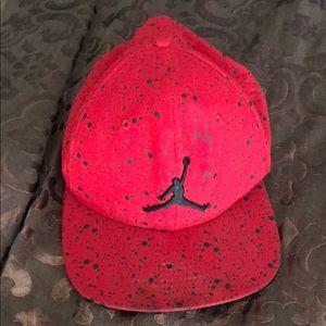 Air Jordan SnapBack Hat Red/Black